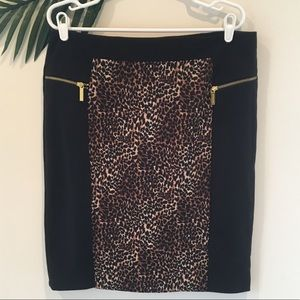 MICHAEL Michael Kors Leopard print skirt